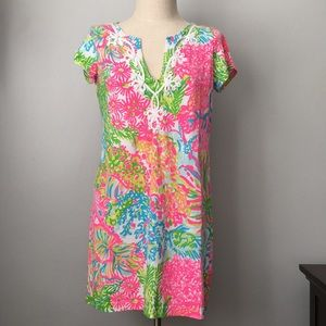 Lilly Pulitzer Short Sleeve Tee Casual Dress Large